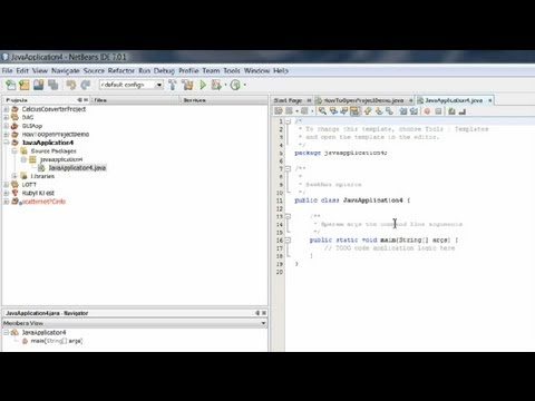 How to Open Projects in NetBeans : Useful Computer Tips