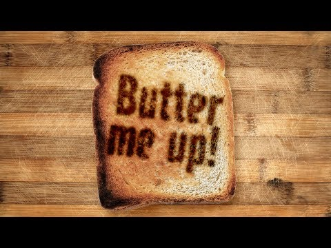 Photoshop Tutorial: How to Burn Images and Text onto Toast!