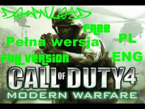 Call Of Duty 4 Modern Warfare Download Free Full Version, Pełna wersja PL
