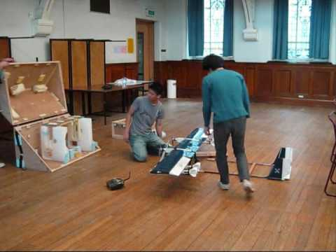 University of Strathclyde - AIAA DBF 08/09 - Claymore Pigeon: Assembly Drills (Take 2)