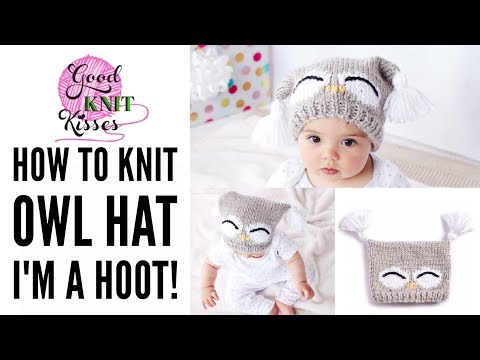 How to Make a Knit Owl Hat