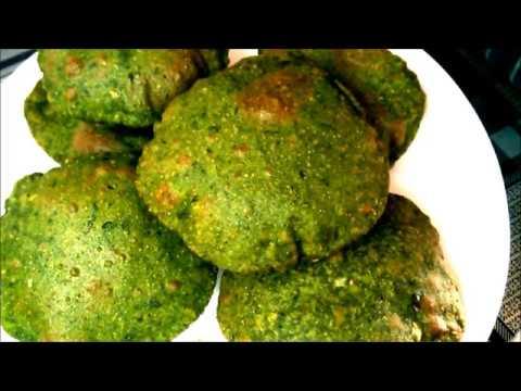 मसाला पालक पुरी I Spinach Recipe I Tiffin Recipe I Breakfast Recipe,Tea Time Snacks monika's kitchen