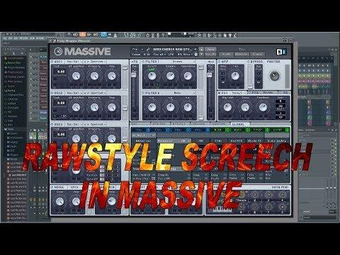 Rawstyle Screech Preset in Massive [Free Download]