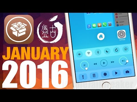 Top 10 NEW Cydia Tweaks for iOS 9 to iOS 9.0.2 - January 2016 (iPhone/iPod/iPad) 2016
