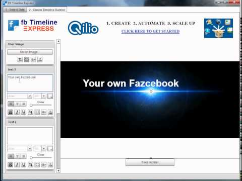 Create your own Facebook timeline cover in minutes