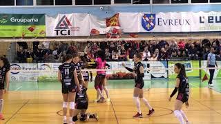 Evreux vs Nancy Volleyball