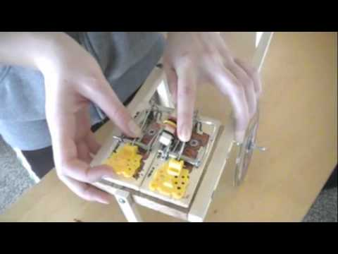 mouse trap car that goes forward and back