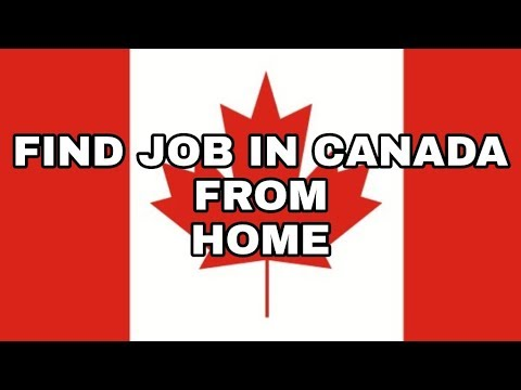Find job in Canada from home | trusted way | must try