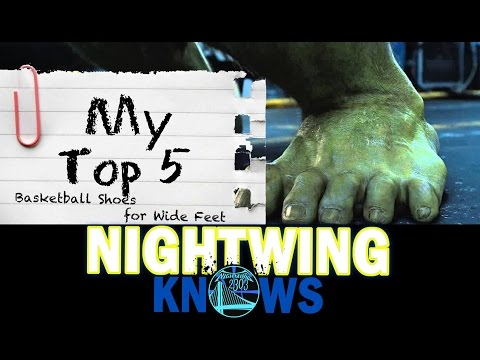 My Top 5: Best Basketball Shoes for Wide Feet (Right Now) | Nightwing Knows