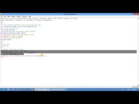 Python String part 07
