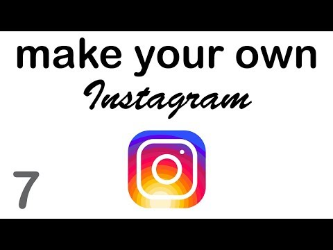 Make your Own Instagram - Profile Photos (7/10)