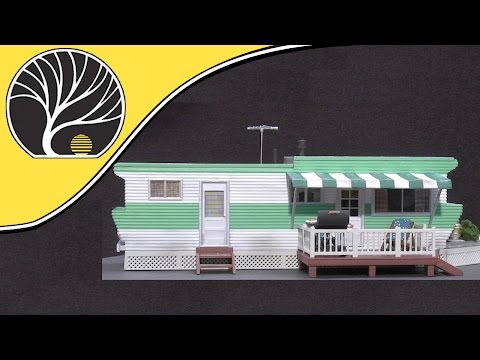 Trailers – N, HO and O Scale - Built-&-Ready® | Woodland Scenics