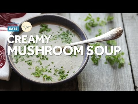 Quick and Easy Creamy Mushroom Soup