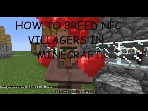 How to Breed Villagers in Minecraft 1.7.10 (HD)