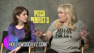 Pitch Perfect 3 Three Anna Kendrick Rebel Wilson Full Interview