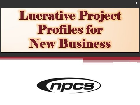 Lucrative Project Profiles for New Business