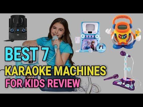 Best 7 Karaoke Machines for Kids Review 2018