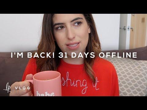 I'M BACK! 31 DAYS OFFLINE | Lily Pebbles