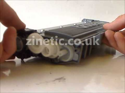 How to refill the Brother TN-2310 TN-2320 toner cartridge