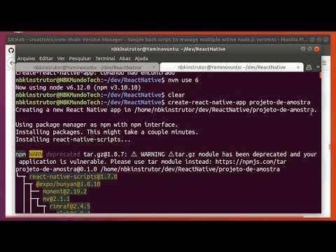 02 [Ubuntu] create-react-native-app