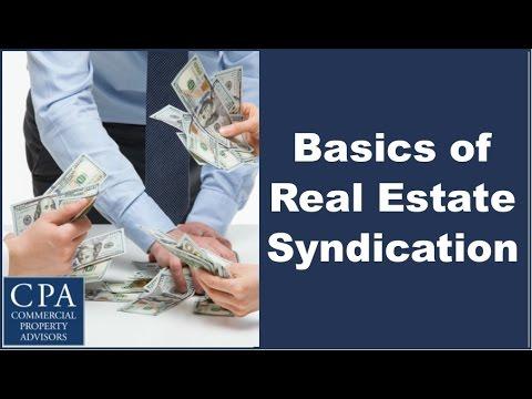Basics of Real Estate Syndication