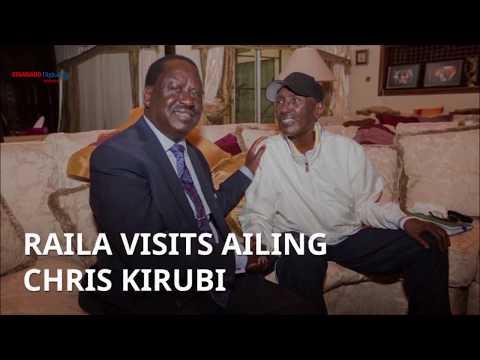 Raila Odinga visits ailing city tycoon Chris Kirubi