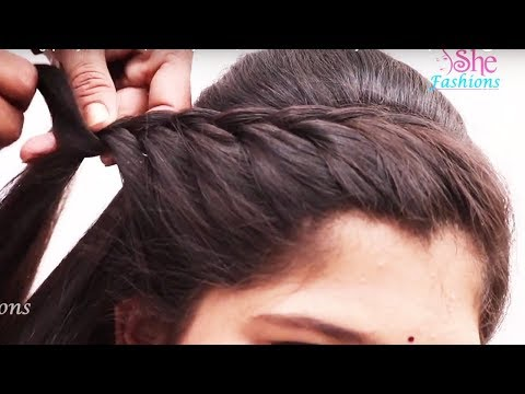 Easy beautiful hairstyle for Long Hair ★ Hairstyle video tutorial ★ Everyday hairstyles - PART1