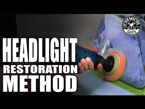How To: Best Headlight Restoration Method - Chemical Guys Car Care