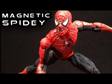 Marvel Legends MAGNETIC MOVIE SPIDER-MAN Figure Review