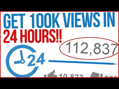 How To GET MORE VIEWS FAST? - Increase YouTube Views And Subscribers 2018!