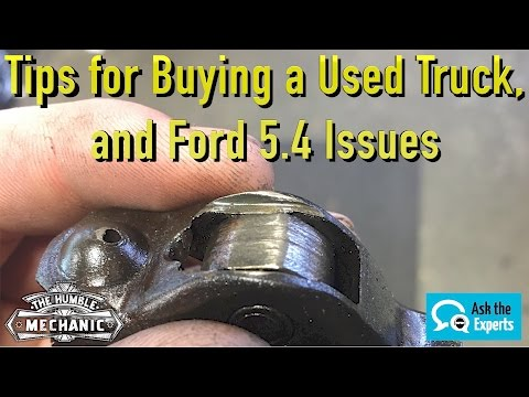 Tips for Buying a Used Truck, and Ford 5.4 Issues