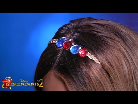 Evie Hair Accessory 💍 🍎 ✨ | DIY | Descendants 2