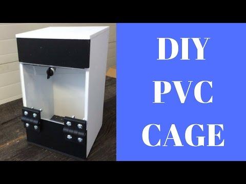 Crested Gecko Setup DIY in PVC