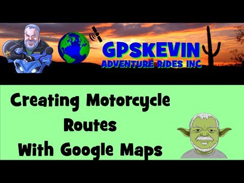 Add Motorcycle Route In Google Maps