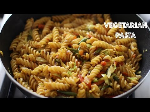 VEGETARIAN PASTA RECIPE | PASTA RECIPE INDIAN STYLE | INDIAN SPICES PASTA