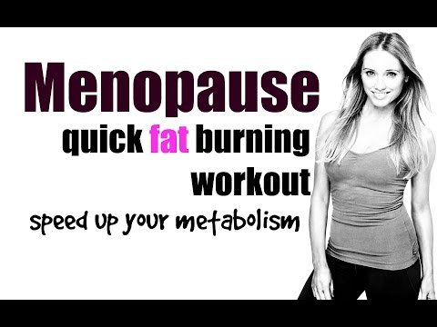 HOME WORKOUT - TO PREVENT WEIGHT GAIN THROUGH THE MENOPAUSE