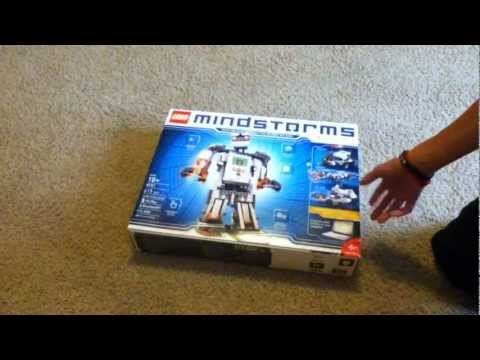 Lego Mindstorms NXT 2.0 Unboxing