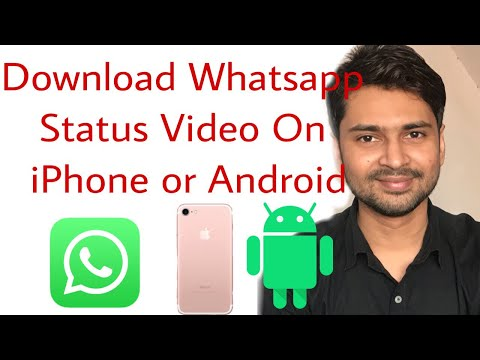 How to download whatsapp status video in iphone without JAILBREAK  | Whatsapp video status download
