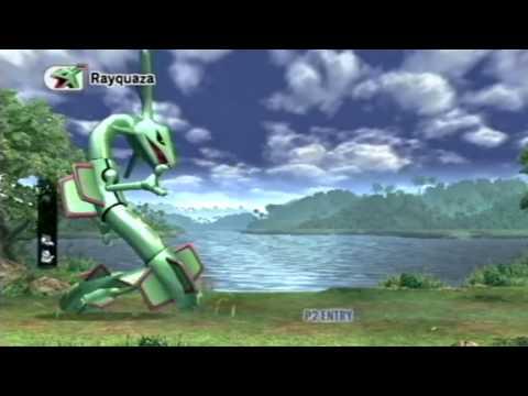 SSBB: catch Rayquaza intense