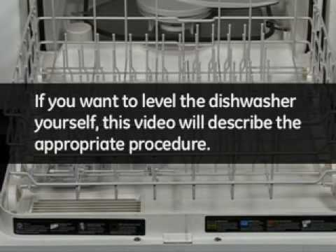 How to Level a Dishwasher