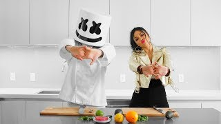 Marshmello & Nicole Scherzinger Make Hawaiian Poke Bowls   Cooking with Marshmello