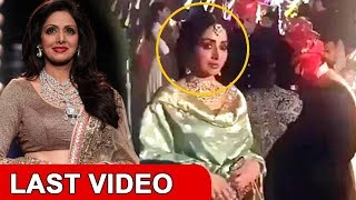 LAST video of Sridevi before she passed away in Dubai