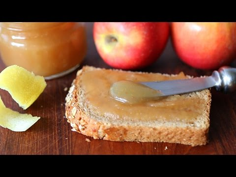 Apple butter spread recipe - without butter