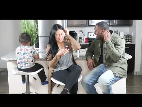 COUPLES TAG 123 WITH FIANCE | OUR FIRST VIDEO