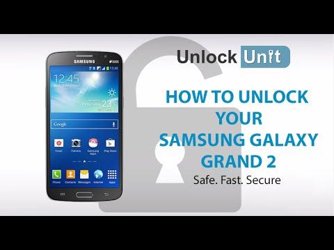 UNLOCK SAMSUNG GALAXY GRAND 2 - HOW TO UNLOCK YOUR SAMSUNG GALAXY GRAND 2