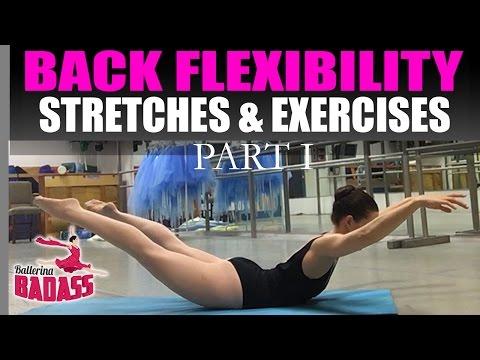 Back Flexibility Stretches & Exercises Part I - with Ballerina Badass