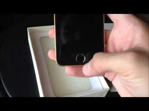 GOLD & BLACK Custom iphone 5 -Ebay Listing-