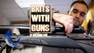Meeting the Brits with guns - BBC News