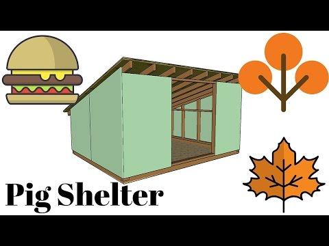 Pig Shelter Plans