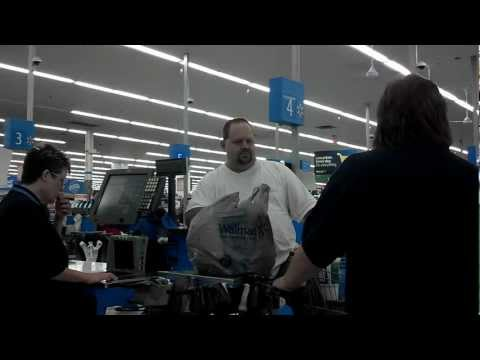 Thrown Out Of Walmart For Using a real $100 Dollar Bill